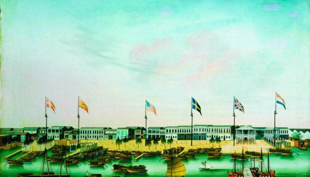 広州にやってきた貿易商たちの居館地域 (Forbes House Museum)