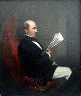ジョン・マレー・フォーブスの肖像画 (Forbes House Museum)