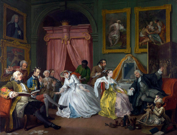SNSと18世紀宮廷社交の本質は似ているのかもしれない