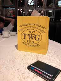 老舗ブランドのような外観からTWGが新興ブランドと知らない人も多い