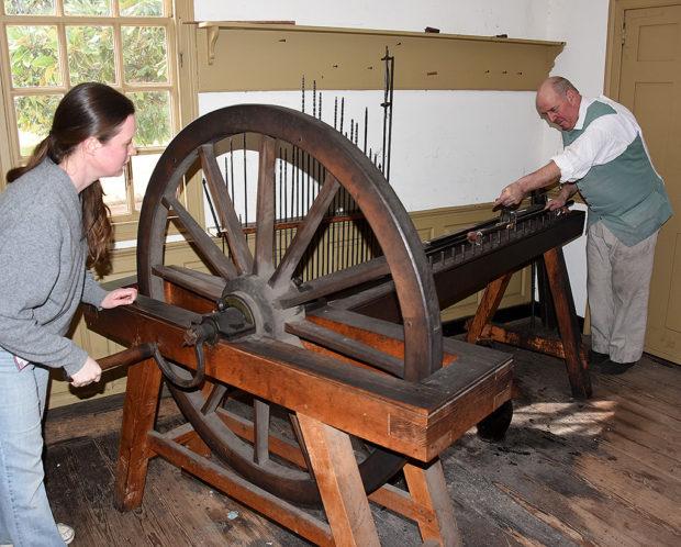 再現された18世紀の銃口らせん加工機(Rifle Barrel Making: the 18 th-century process)