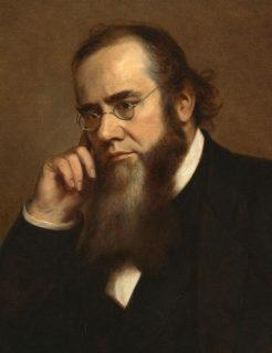 リンカーンの右腕と評された戦争長官エドウィン・スタントンの肖像画(National Portrait Gallery)