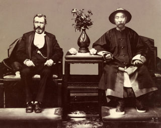グラントと清国の総督・李鴻章