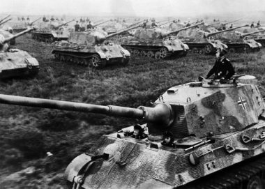 ドイツ軍の機甲師団(Gettyimages)