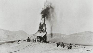 イラン初の石油井(The British Petroleum)