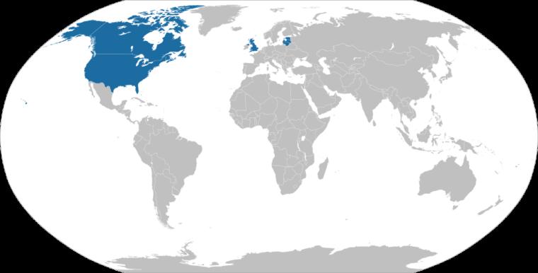 マグニツキー法を通過させた国々(作成:Jay Coop 2020年7月6日)