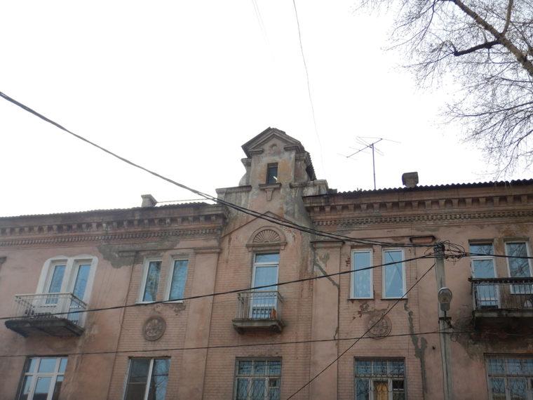 フルシチョフカの建物