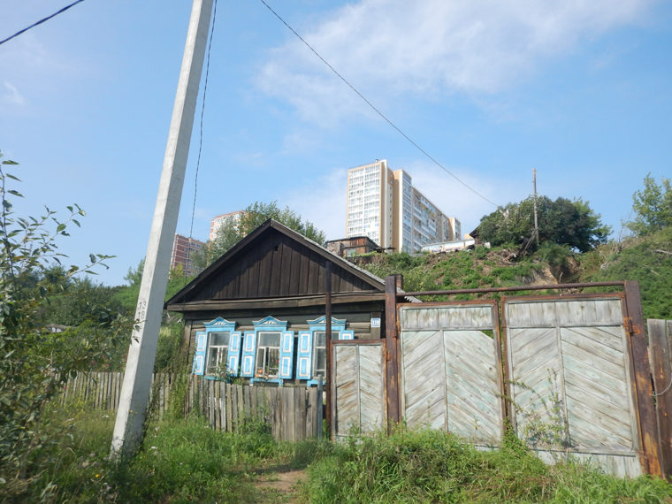 帝政時代の建物と現政権になってから建てられた建物