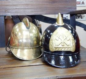 帝政時代の消防隊員のヘルメット