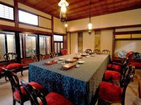 再現された下関講和会議の部屋(春帆楼ホームページより)