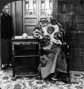 講和会議の清国全権・李鴻章(public domain)
