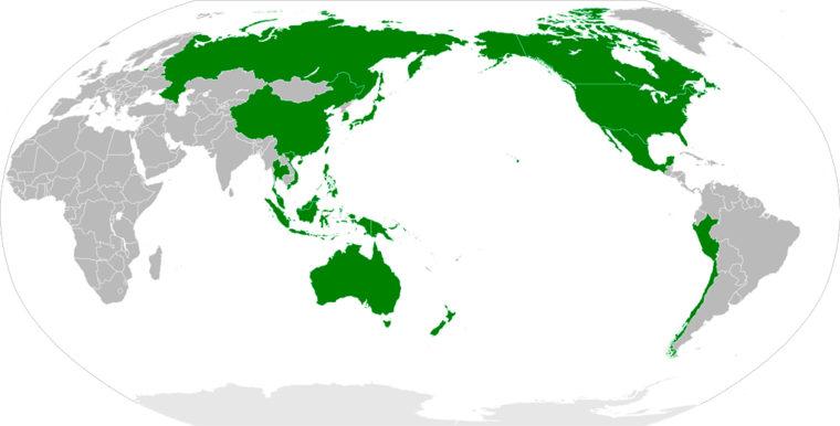 APEC加盟国(出典: ウィキペディア)