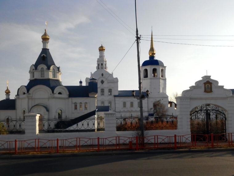 ウランウデのロシア正教会